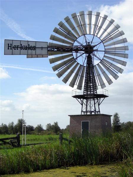 Amerikaanse windmolen - de Veenhoop